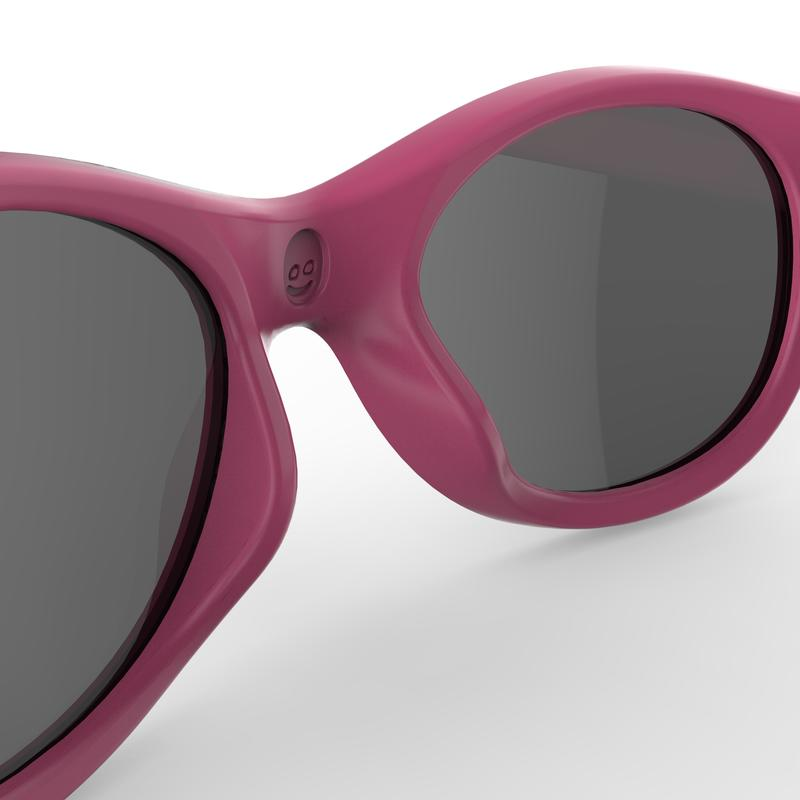 Kid's Mountain Hiking aged 2-4 Sunglasses - MH K100 - Category 3-pink