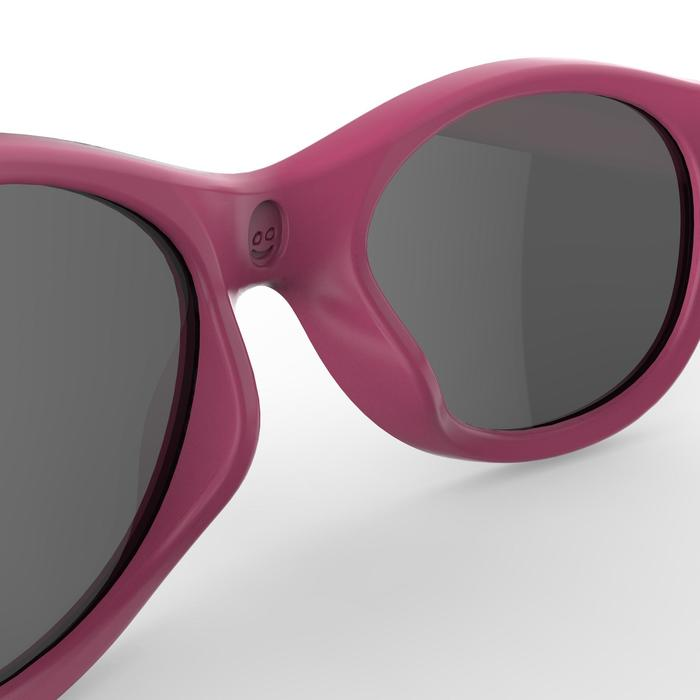 Wandelzonnebril voor kinderen 2-6 jaar MH K100 categorie 3 roze