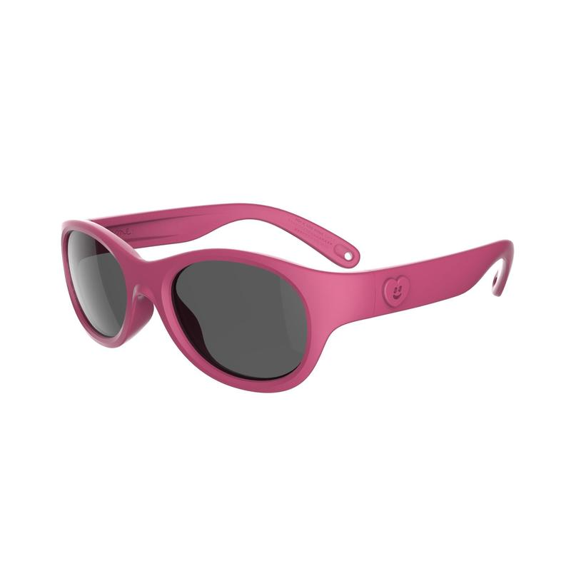Occhiali bambina 2-4 anni MH K100 categoria 3 rosa
