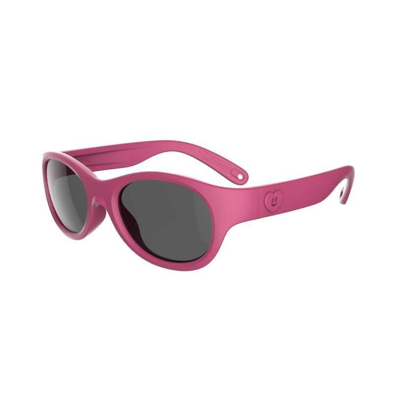 SUNGLASSES JUNIOR Hiking - MH K100 CAT3 - PINK QUECHUA - Hiking