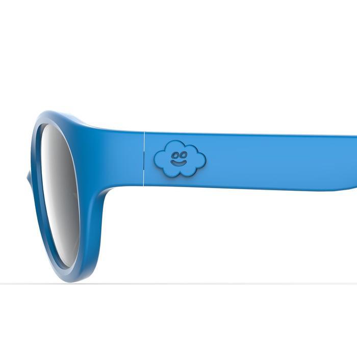 Lunettes de soleil randonnée enfant 2-4 ans MH K 100 bleues catégorie 3 - 1249506