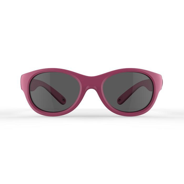 Gafas de sol senderismo niños 2-4 años MH K 100 rosa categoría 3