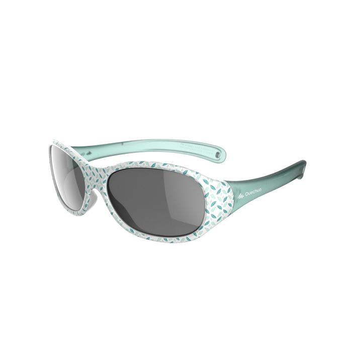 MH K 520 Children Hiking Sunglasses 2-4 Year Old Category 4 - Green Leaves