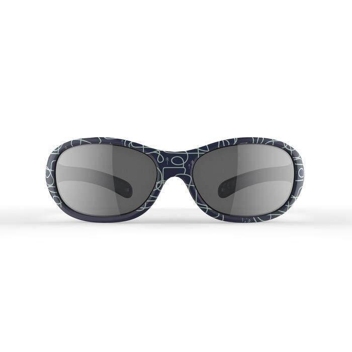 Lunettes de soleil randonnée enfant 2-4 ans MH K 520 bleues catégorie 4