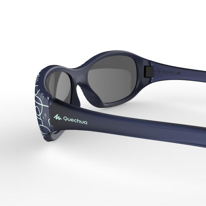 Category 2 MH K120 children's hiking sunglasses (4-4 years) - Blue