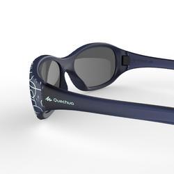 Zonnebril trekking voor kinderen 2-4 jaar MH K120 blauw categorie 4