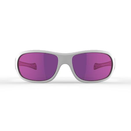 Сонцезахисні окуляри T500 для гірського туризму, кат. 4 - Білі
