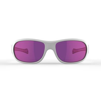 Gafas De Sol De Montaña MH T500 Categoría 4 Niño Niña Violeta De 6 A 10 Años