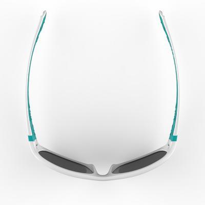 T 500 משקפי שמש לטיולים לילדים בני 7-10 קטגורייה 4 - לבן/כחול