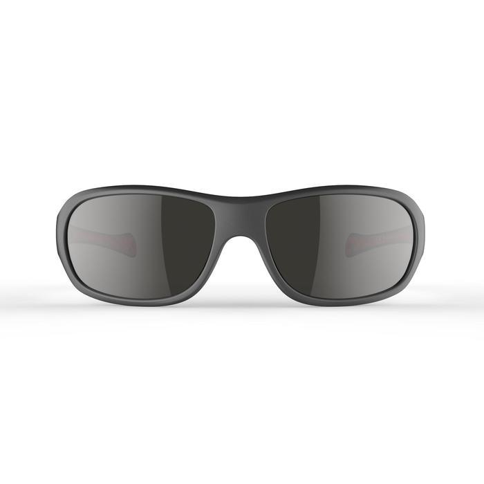 Sonnenbrille Wandern MH500 Kategorie 4 Kinder 8-10 Jahre grau