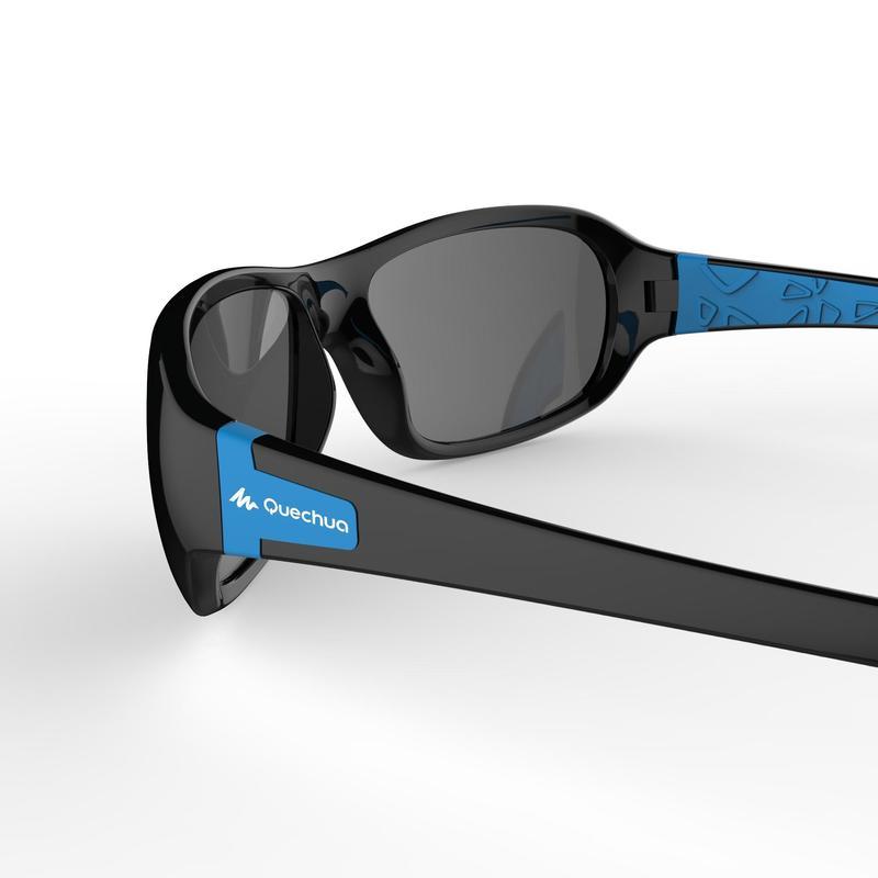 Children's CAT 3 polarised hiking sunglasses (8-10 years) MH T500 - blue