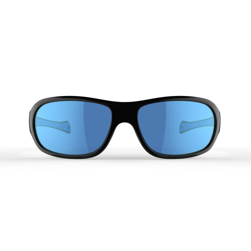 Kid's Hiking Sunglasses (Age 8-10 years) MHT500 Category 3 (Polarised) - Blue