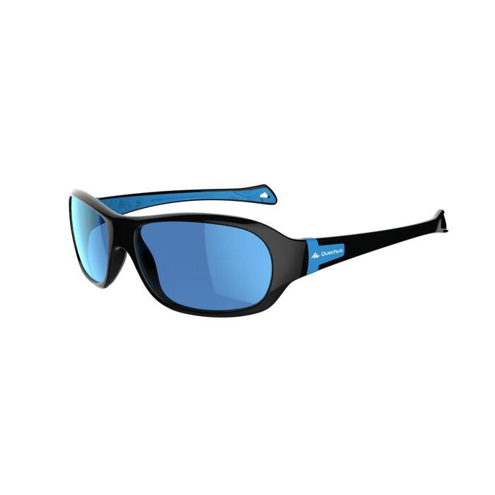 Lunettes de soleil randonnée enfant 7-10 ans MH T 500 bleues polarisantes CAT3 - 1249601
