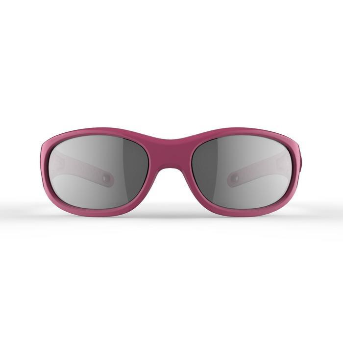 Kid 900 W 兒童健行運動太陽眼鏡 適合4-6歲配戴 4號鏡片 - 粉紅花朵
