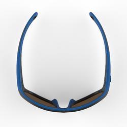Gafas de sol de senderismo júnior 5-6 años MH K140 azul/negro categoría 4