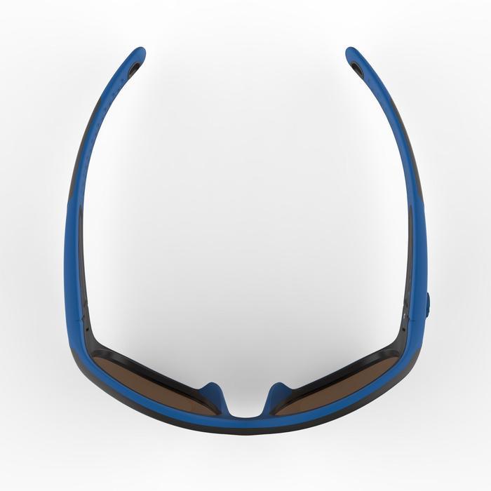 Zonnebril trekking voor kinderen 4-6 jaar MH K 900 blauw / zwart categorie 4