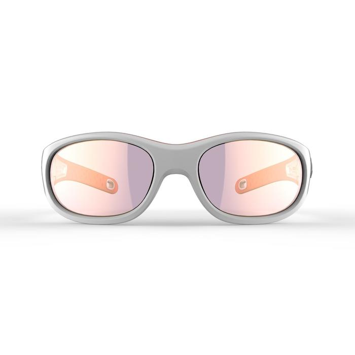 MH K 900 Hiking Sunglasses for 4-6 Year Old Children Category 4 - White/Orange