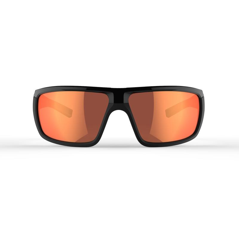 Hiking Sunglasses MH530 Category 3 - Black & Red