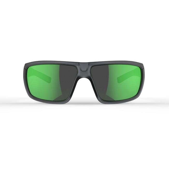 Sonnenbrille MH530Bergwandern Erwachsene Kategorie3 grau/grün