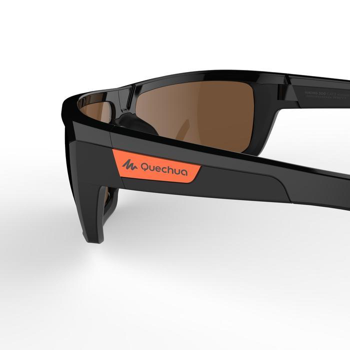 Sonnenbrille MH530Bergwandern Erwachsene Kategorie3 schwarz/rot