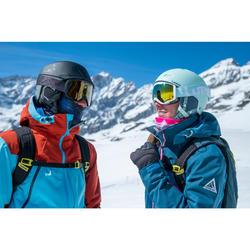 Nekwarmer ski volwassenen Hug veelkleurige lijnen
