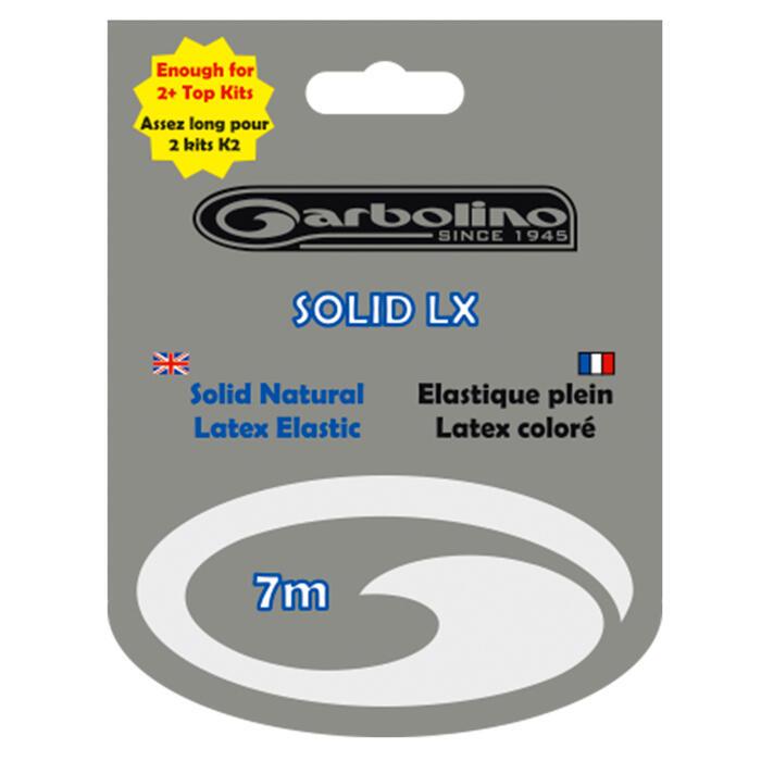 Latex elastiek voor vissen met vaste stok 2,3 mm - 7 m