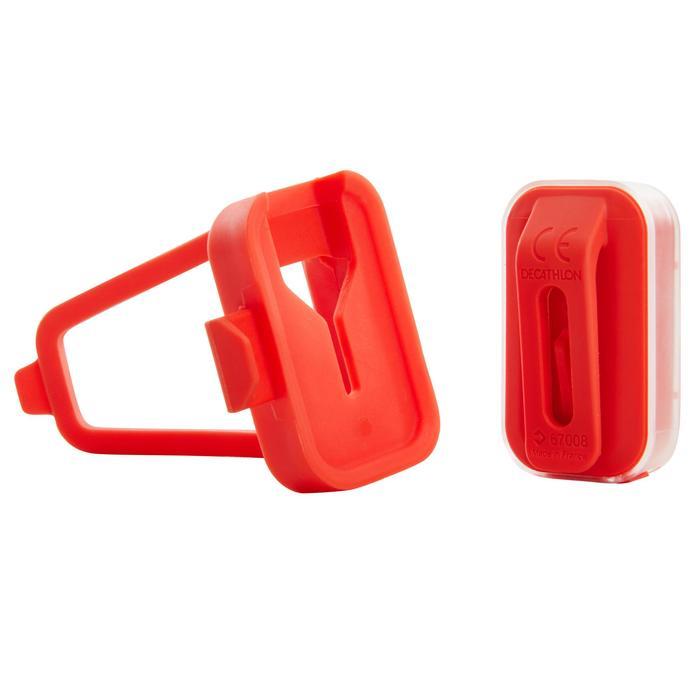 ECLAIRAGE VELO LED VIOO CLIP 500 AVANT/ARRIERE ROSE USB