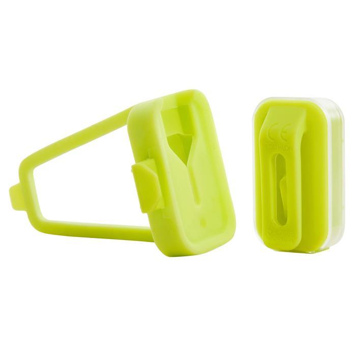 USB充電LED前後自行車燈CL 500 - 黃色