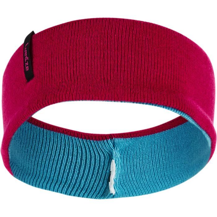 Stirnband wendbar Kinder rosa/blau