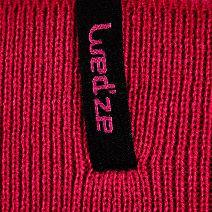 Omkeerbare skihoofdband kinderen Reverse roze/blauw
