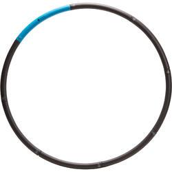 Hula Hoop Lastrado Pilates Domyos Azul /Negro Toning 1,4 Kg