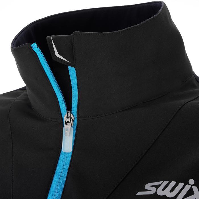 Veste ski de fond coupe vent Geilo femme noire