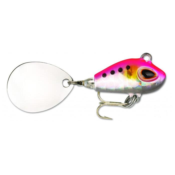 Spinner Gomoku Spin Pink Sardine 10 g zum Angeln auf Raubfische