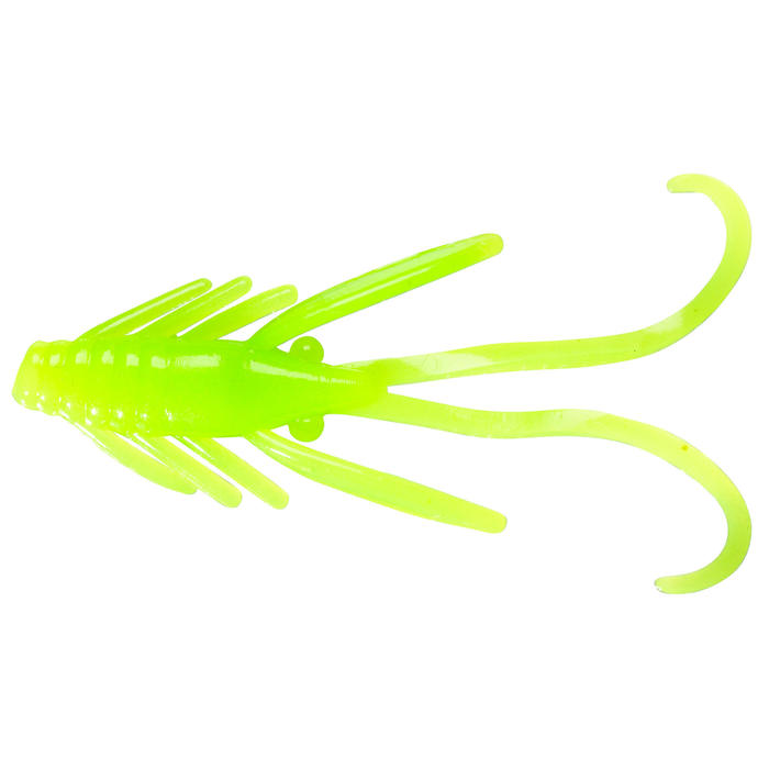 Softbait voor forelvissen in vijvers Powerbait groene nymf Chartreuse