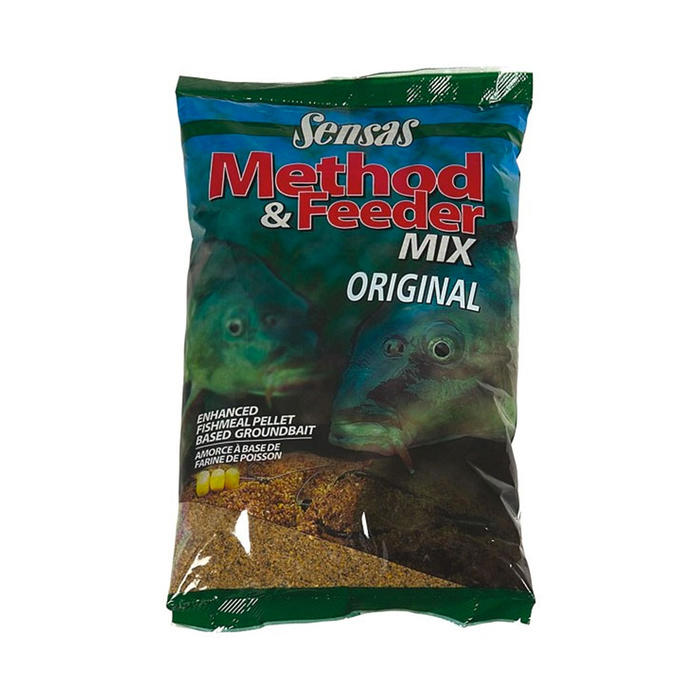 CEBO PARA LA PESCA DE LA CARPA METHOD MIX ORIGINAL 1 kg
