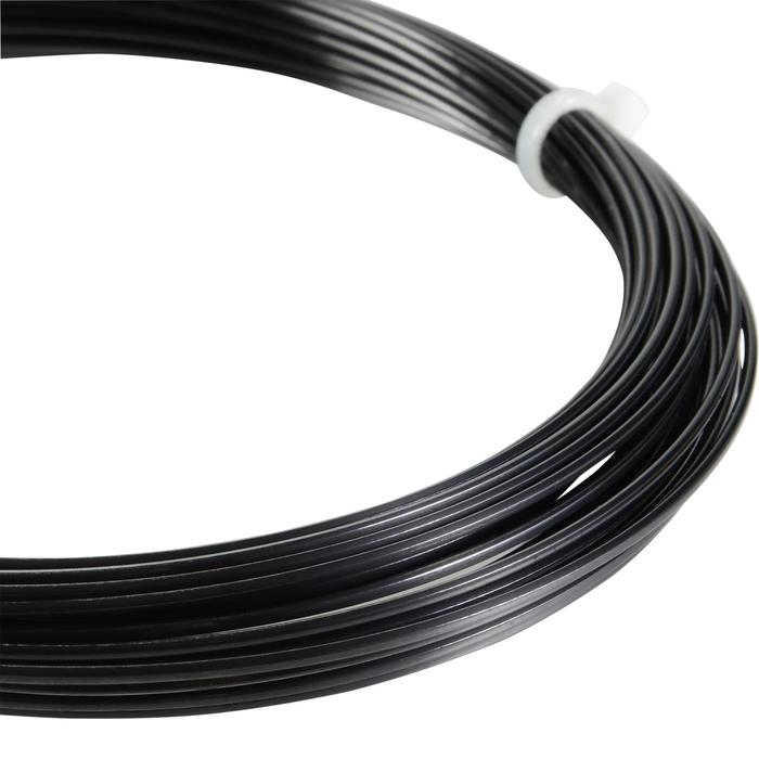 CORDAGE DE TENNIS MONOFILAMENT BLACK CODE 1.28mm NOIR - 1250007