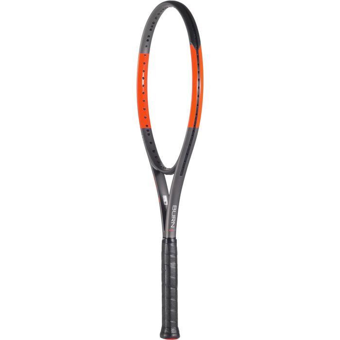 Tennisschläger Burn 100 ULS Erwachsene grau/orange