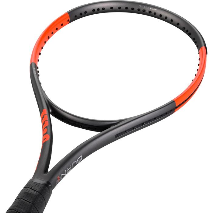 RAQUETTE DE TENNIS WILSON BURN 100 LS GRIS ORANGE - 1250011