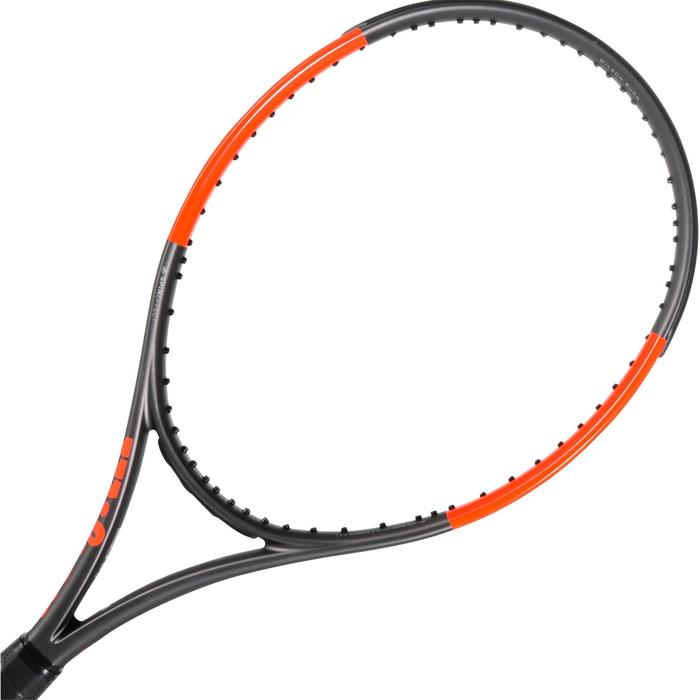 RAQUETTE DE TENNIS WILSON BURN 100 LS GRIS ORANGE - 1250018