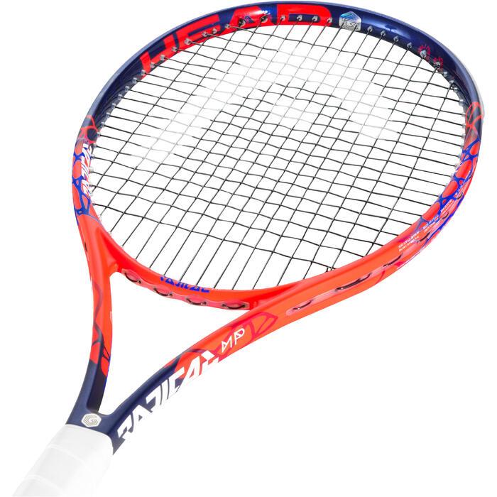 Tennisracket volwassenen Radical MP oranje/blauw