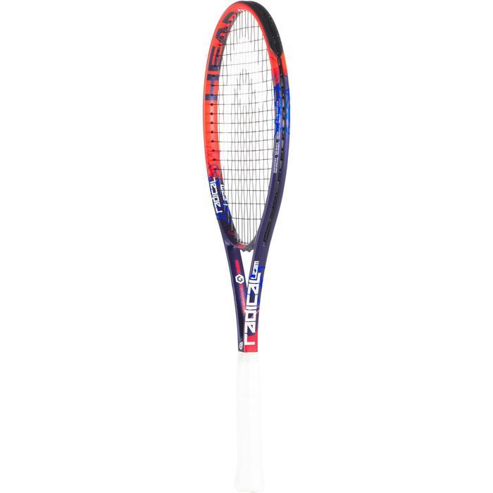 Tennisschläger Radical Team Erwachsene besaitet orange/grau