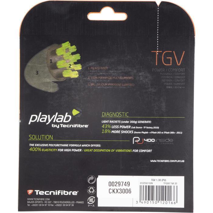 Tennisbesnaring multifilament Tecnifibre TGV 1,30 mm naturel