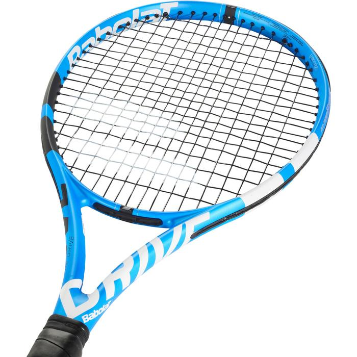 Tennisracket voor volwassenen Pure Drive blauw/zwart