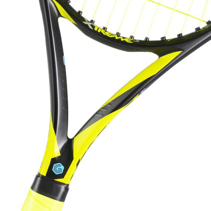 Tennisschläger Extrem S besaitet schwarz/gelb