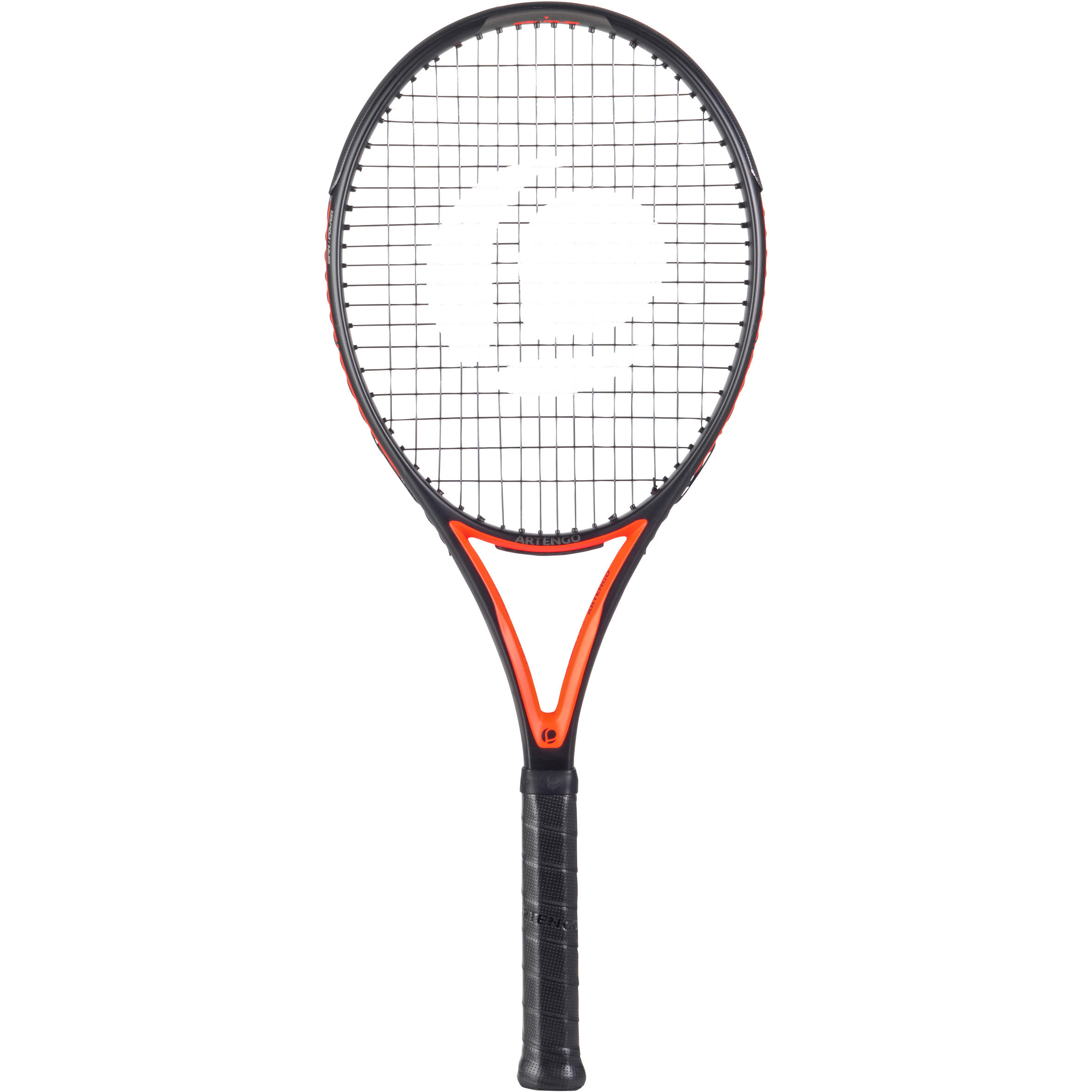 TR 900 Pro Adult Tennis Racket - Black/Orange