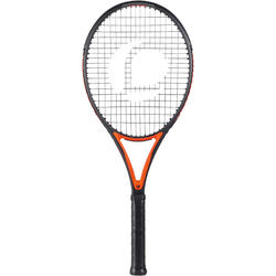 RAQUETTE DE TENNIS ADULTE TR990 PRO NOIR ORANGE