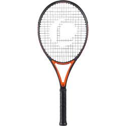 T 990 進階網球拍- 黑色/橘色