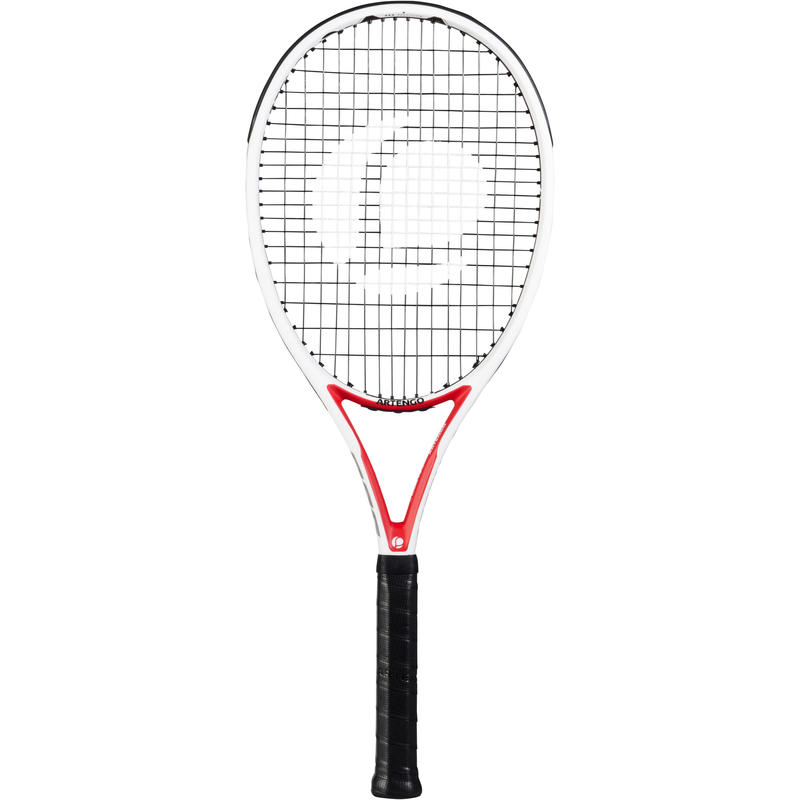 TR960 Precision Adult Tennis Racket - White/Red
