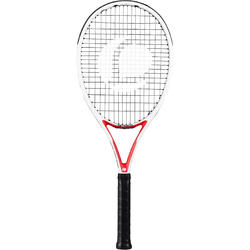TR 960 Precision Adult Tennis Racquet - White/Red