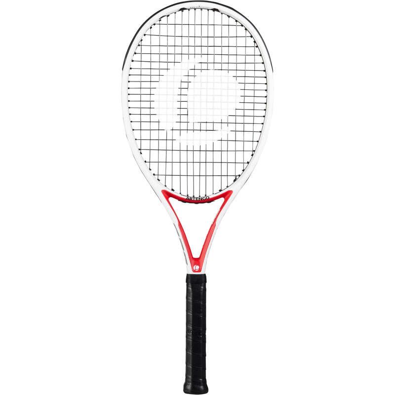 RAQUETTES ADULTE EXPERT Racketsport - TR960 PRECISION vit röd ARTENGO - Tennis